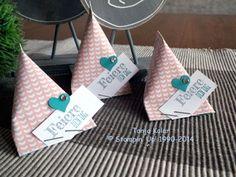 Goodies für die Stempelparty Gäste: Mini Sour Cream Container