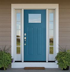 Pella's Vibrancy Collection of front door colors brings personality and curb…