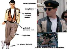 Great couple / best friend costume idea: dress up as Ferris Bueller + Sloane + Cameron!