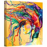 "Found it at Wayfair - ""Windswept"" by Linzi Lynn Painting Print on Canvas"