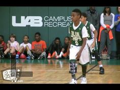 LeBron James Jr and Bryce at It Again! Battle Of The Magic City 2016 - YouTube