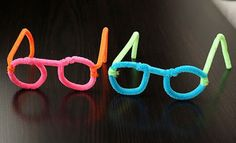 pipe cleaner glasses (tie in with how God looks at us *His creations* with with pride and love) ?