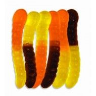 Albanese Halloween Mini Worms (Orange, Yellow and Black), 5-Pounds  2 Halloween Swirl Pops. Set of 12 Features : Set of 12 Halloween Swirl Pops *80 calories per Swirl Pop *These would be a wonderful addition to any Halloween party! Product dimensions : 1.4x3.6x3.8 inches