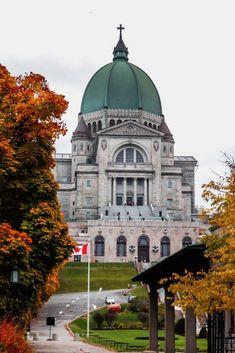 Montréal | Nos 12 incontournables #mtl #montreal #quebec #canada #oratoirestjoseph #church #fall #automne #eteindien