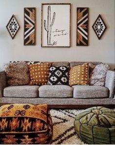 Boho Bedroom Decor, Decor Room, Living Room Decor, Cute Dorm Rooms, Cool Rooms, Bohemian House, Bohemian Decor, Boho Chic, Bohemian Living