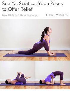 Yoga Poses For Sciatic Nerve Relief ⭐️