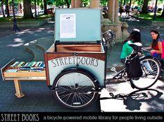 Le concept de la bibliothèque mobile est de plus en plus ancré dans le monde du livre. On...