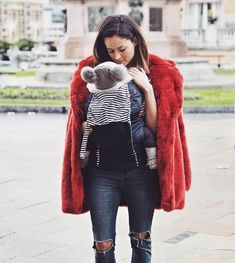 A particularly good looking 'mama bear and baby koala' combo ☺️ Rocking the MB juno carrier in nautical colour. Mountain Buggy, Nautical Colors, Baby Koala, Some Girls, How To Look Better, Winter Jackets, Nursery, Bear, Colour
