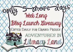 The Reading Tutor/OG: Wednesday Wow Linky - Adventures in Literacy Land collaborative blog with literacy experts internationally - 6 January 2014 is the launch with heaps of freebies and a couple of great prizes :)