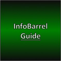 InfoBarrel Guide #infobarrel #makemoneywithwebsites