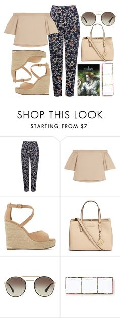 """""""Outfit #100"""" by jordancydney ❤ liked on Polyvore featuring M&Co, TIBI, Dune, Michael Kors, Prada and Kate Spade"""