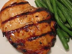 Sweet Balsamic Grilled Chicken