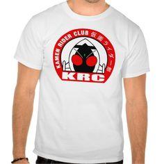 Kamen Rider Club Worldwide T-Shirts. Kamen Rider Club and Space Cop Gavan the Galactic Union Police