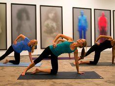 Urban Yoga Dubai   Yoga in an Art Gallery here in DUBAI