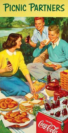 Picnic Partners - Coca Cola - 1953