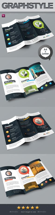Ventika_Tri-fold Corporate Business Brochure