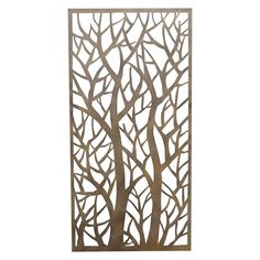 Forest Rusted Look Steel Screen @ Stratco