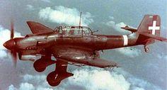 17/9/35 primo volo del bomb. in picchiata Junkers Ju87 Stuka utilizzato pure dalla RegiaAeronautica