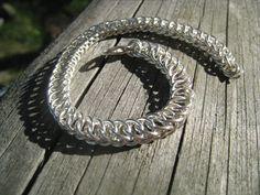 Bracelet: silver wire 2012 Wire, Bracelets, Silver, Jewelry, Jewlery, Jewerly, Schmuck, Jewels, Jewelery