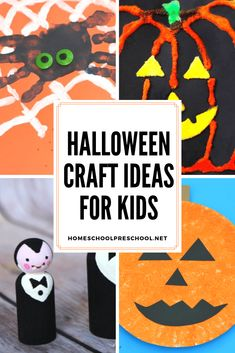 Here's a great collection of Halloween crafts for kids that are cute not scary. They're perfect for little hands. And, they'll get you in the Halloween spirit for sure! #halloweencrafts #halloweencraftsforkids #halloweenkidscrafts #homeschoolprek Hands On Activities, Educational Activities, Preschool Printables, Halloween Crafts For Kids, Spirit Halloween, Scary, Homeschool, Cute, Blog