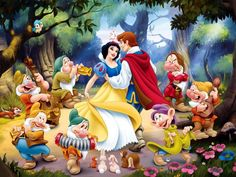 Snow White and the Seven Dwarfs Disney Wallpapers) – Wallpapers HD Disney Animation, Disney Pixar, Art Disney, Disney Kunst, Disney Girls, Disney Cartoons, Disney Movies, Classic Cartoon Characters, Classic Cartoons