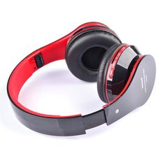 #TomTop - #generic AT-BT809 Foldable Wireless Bluetooth Stereo Headphone Headset Mic FM TF Slot for iPhone iPad Smartphone - AdoreWe.com
