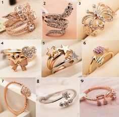 Awesome rings. ..