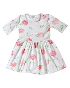0-3 Girls' Clothing (0-24 Months) Honey Baby Girl Floral Romper