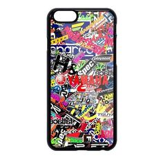 New Yamaha Collage Sticker Boms Special Edition For iPhone 7,7 Plus & iPhone X