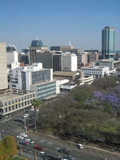 The city Harare is the capital of Zimbabwe. holds over a million people, and is a lovely place to be at.