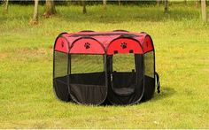 110cmPet Cage Supplies 600D Oxford Dog Carrier Dog Playpen For Dog Cat Fence Kennel Dog House Outdoor Cat House Playpen Exercise #DogPlaypen