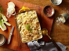 Fennel Gratin with Parmesan Bread Crumbs - This creamy, dreamy gratin ...