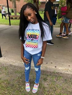 Summer outfits for teens, trendy outfits, boujee outfits, summer clothes, dope outfits Summer Outfits For Teens, Swag Outfits For Girls, Teenage Outfits, Cute Swag Outfits, Dope Outfits, Teen Fashion Outfits, Trendy Outfits, Summer Clothes, Boujee Outfits