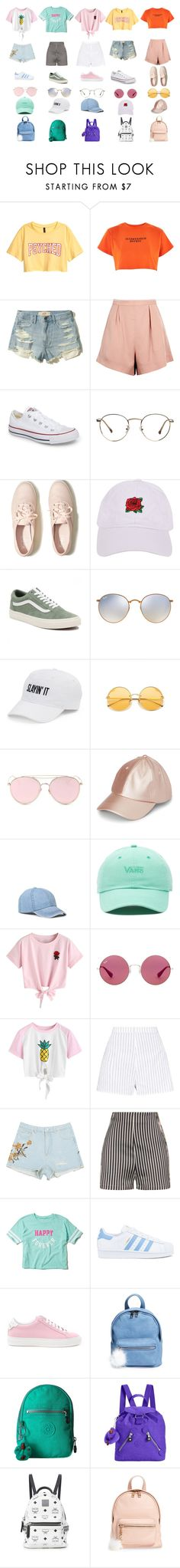 """""""BBMOD"""" by kxjae on Polyvore featuring Illustrated People, Hollister Co., Finders Keepers, Converse, Armitage Avenue, Vans, Ray-Ban, SO, LMNT and WithChic"""