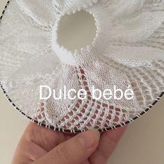 """Lidy Dulce bebé. : ¡Hola a todas! Ya que sois muchas las que me habéis pedido el canesú de MI traje rosa os los dejo GRATIS para todas. Besos [   """"Canesú nº 1"""" ] #<br/> # #Knitting,<br/> # #Baby #Clothes,<br/> # #Tissue,<br/> # #Kisses<br/>"""