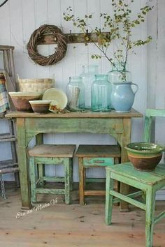 Shabby Chic home decor explanation reference 8777134298 to get for a simply smashing, smart room. Please check out the webpage today for cool clues. Beach Cottage Style, Beach Cottage Decor, Rustic Cottage, Farmhouse Decor, Shabby Chic Homes, Shabby Chic Decor, Muebles Shabby Chic, Deco Champetre, Vibeke Design