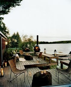 Copake Lake House - Lake Living - Deck - Outdoor Living