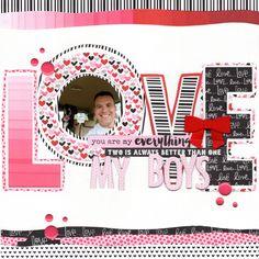 love (bella blvd) || happyGRL - Scrapbook.com