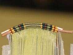 Headbands – Endbands | Lili's Bookbinding Blog - Beautiful  Didnt know what headbands were!