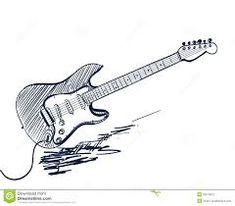 Imagen Relacionada More Information Classic Electric Guitar Coloring Page