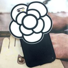 "White Camellia iPhone 6/6S Plus 5.5"" Silicone Case Mobile Skin Cover Apple #UnbrandedGeneric"