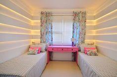 ¿Cómo Colocar dos Camas en un Dormitorio para Niñas?