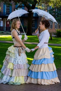 SO AWESOME!  Southern Belle Ruffle Skirt by Live Steamy by LiveSteamy on Etsy, $245.00
