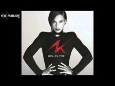 Alicia Keys - Girl On Fire,, heard a 9yo lil boy sing this.. Talk bout pullin some heart strings!!