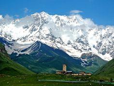 Mount Caucasus, Georgia