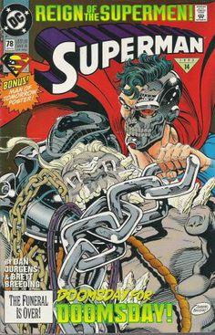 """DC Comics Presents; # 78 Superman """"Reign of the Supermen"""" Alive (No. 78, June 1993) comic #mindcomics"""