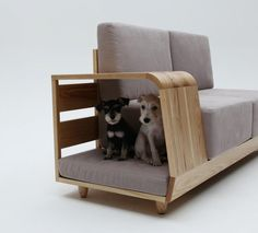 love this idea for pets - Dog House Sofa by Seungji Mun