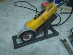 diy angle grinder stand - Google Search