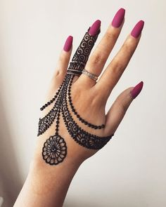 8 Types of Backside Hand's Poncha Mehndi Design - New Mehndi Designs & Fashion