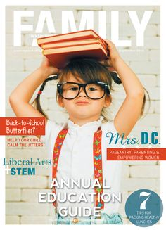 Check out our September issue on www.washingtonFAMILY.com